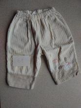 Manžestrové kalhoty, manšestráky, 68