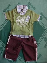Kalhoty + triko, next,74