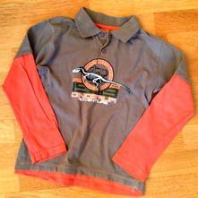 Khaki tričko s dinosaurem, reserved,128