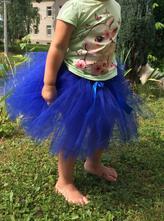 Tutu sukně modra, 50 - 128
