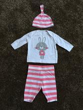 Krásný zajíčkový komplet pro novorozence, f&f,56