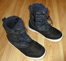 Zimní boty s kožíškem, lotto,30