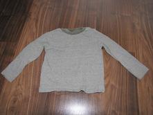Khaki tričko s dl.rukávem zn. f&f vel. 92, f&f,92