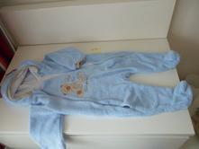Chlupáčkový overal/kombinézka baby nellys, 74