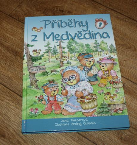 Kniha příběhy z medvědína,
