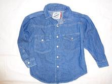 Super riflová košile - perleťové patenty, st. bernard,110