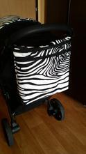 Taška na kočárek zebra 35/35cm,