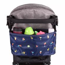 Organizér, taška na kočárek - barevný,