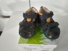 Chlapecké kožené sandálky zn. protetika vel. 21, protetika,21