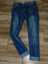 Moderní dámské džíny, 36