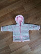 Chlupatkový kabátek s kapucí, baby service,62