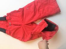 Zateplené dívčí lyžařské oteplovačky kalhoty č.567, 86