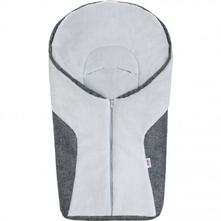 Luxusní zimní fusák new baby car grey,