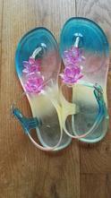 Gumové sandálky, žabky na zapínání, f&f,36