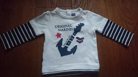 Luxusní tričko top stav, original marines,74