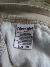 Dámské plátěné kalhoty, 34