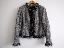 Černobílý kabátek/sako, dam106, promod,m