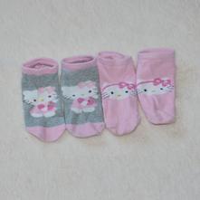Hello kitty- sada 2 kotníkových ponožek, 22