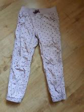 Bezva podšité zateplené kalhoty, h&m,116