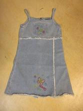 2412a/6    riflové šaty, šatová sukně dopodopo 116, dopodopo,116
