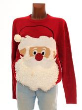 Luxusní santa vánoční svetr velikost l-max.xl, george,l / xl