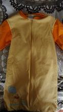 Disney spacáček, teplé pyžamko s medvídkem pú,6-12, disney
