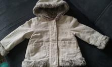 Bunda/ kabátek, palomino,92