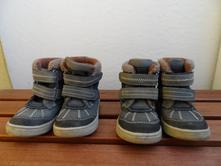 Kožené zimní zdravotní boty protetika, 23