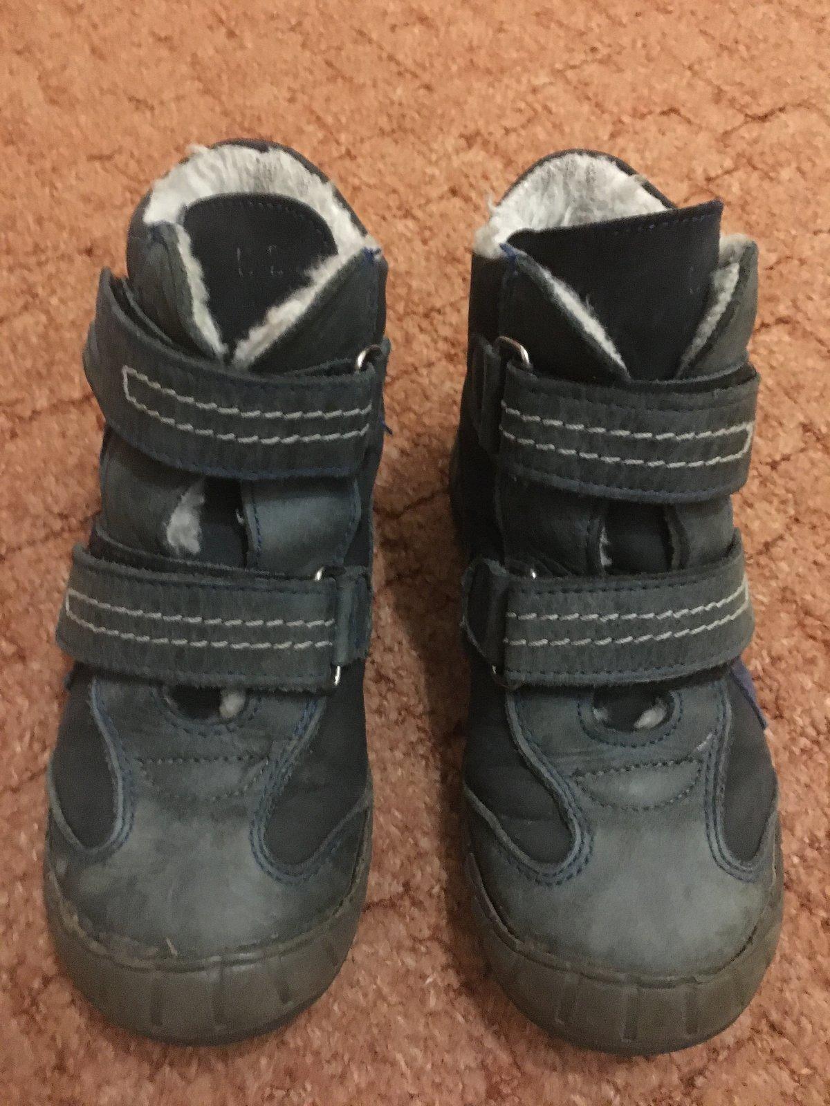 Kožené zimní boty zn. essi 4e5c29fde1
