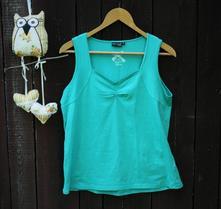 Elastické zelené triko vel 42, 42