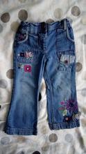Hezké džíny s výšivkami, cherokee,98
