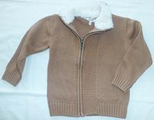 Krásný svetřík na zip, na 4 roky, 104