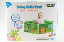 Dětská ohrádka bazén s míčky,