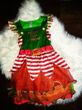 Vánoční šaty 134-140, 134