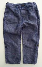 Lněné kalhoty, zara,86
