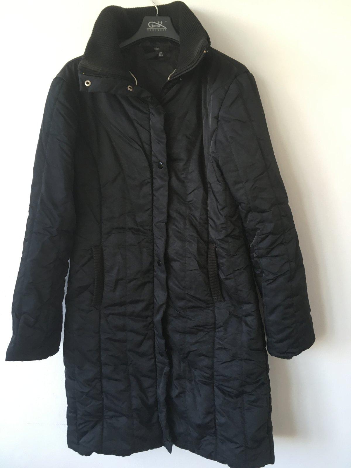 15c7bd15fa Zimní teplý kabát zara