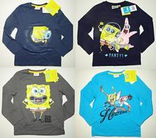 Tričko s dl.rukávy spongebob, 104 - 152