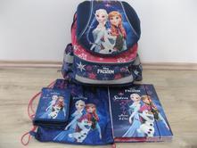 Školní set - taška frozen s doplňky,