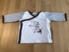 Tenká zavinovací mikinka nebo tričko, h&m, vel.56, h&m,56