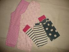 Pyžamo kalhoty 3x vel 5/6 lel next srdce motýl, next,116