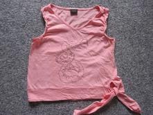 Růžové tričko s obrázkem, s