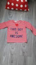 Pruhované triko červené, pepco,92