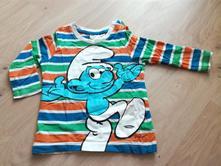 Pruhované tričko se šmloulou zn. h&m, vel. 74, h&m,74