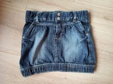 Riflová sukně, velikost 122, okay,122