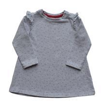 Teplákové šaty se srdíčky, h&m,80