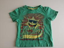 Bavlněné tričko sluníčkové kr. r., f&f,98