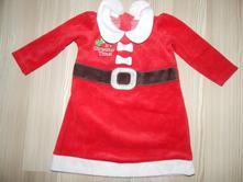 Vánoční šaty 74/80, george,80