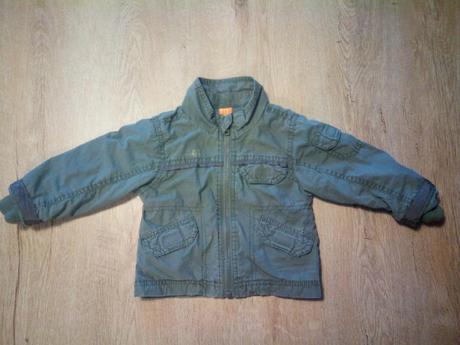 Khaki přechodová bunda, mini mode,68