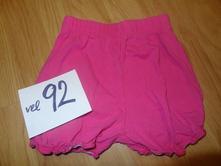 C&a růžové šortky, c&a,92