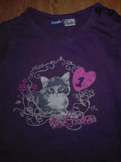 Pyžamko s kočičkou, lupilu,86